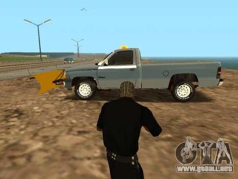 Dodge Ram para GTA San Andreas left