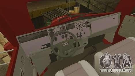 Mini carro para GTA 4 vista hacia atrás