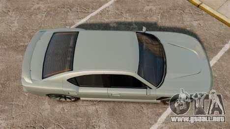 GTA V Bravado Buffalo STD8 para GTA 4 visión correcta