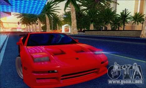 Acura NSX Drift para visión interna GTA San Andreas