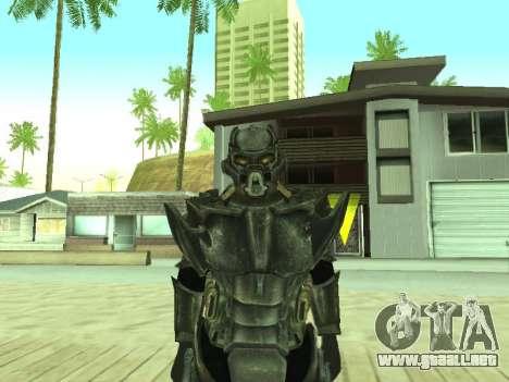 New skin from Fallout 3 para GTA San Andreas