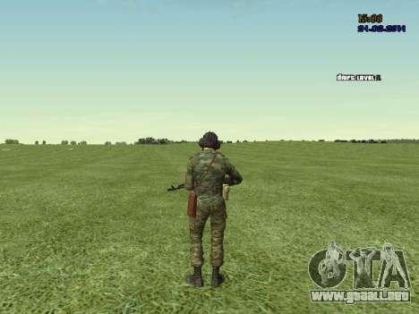 Tankman para GTA San Andreas séptima pantalla