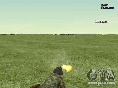 Tankman para GTA San Andreas quinta pantalla