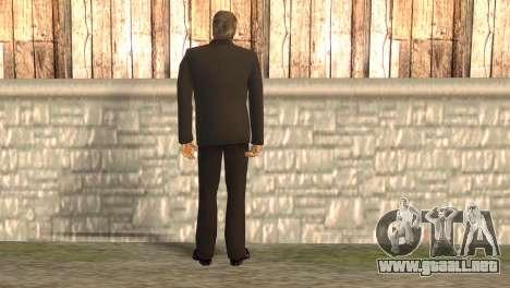 Jefe de la mafia para GTA San Andreas segunda pantalla