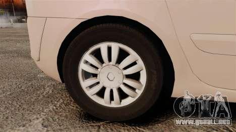Renault Espace IV Initiale v1.1 para GTA 4 vista hacia atrás
