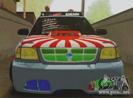 Subaru Forester JDM para GTA San Andreas left