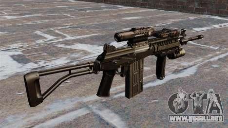 Fusil automático Galil táctico para GTA 4 segundos de pantalla
