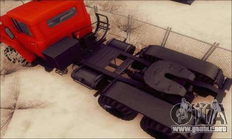 KrAZ 260v para visión interna GTA San Andreas