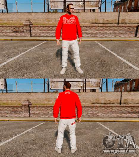 Bosco-ropa deportiva- para GTA 4 tercera pantalla