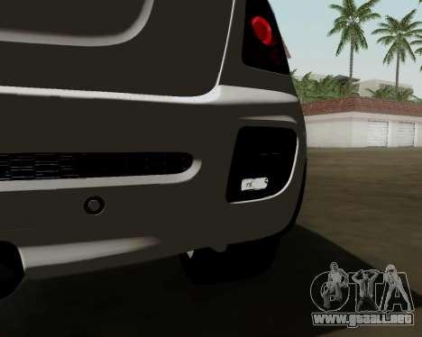 MINI Cooper S 2012 para GTA San Andreas vista hacia atrás
