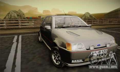 Ford Fiesta Mk3 XR2i para GTA San Andreas left