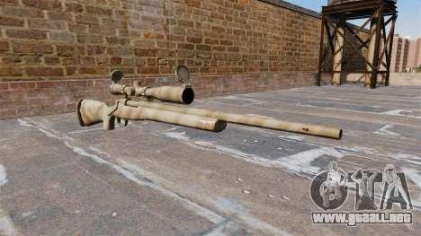 El rifle de francotirador M24 SWS para GTA 4