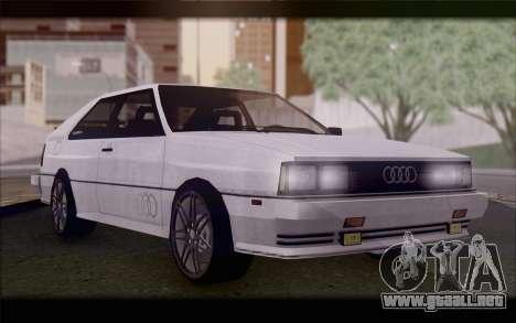 Audi S1 Quattro para GTA San Andreas