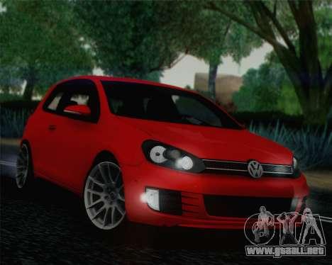 Volkswagen Golf Mk6 para GTA San Andreas