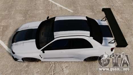Subaru Impreza v2.0 para GTA 4 visión correcta
