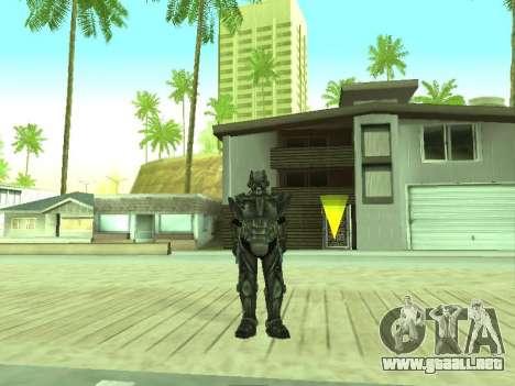 New skin from Fallout 3 para GTA San Andreas segunda pantalla