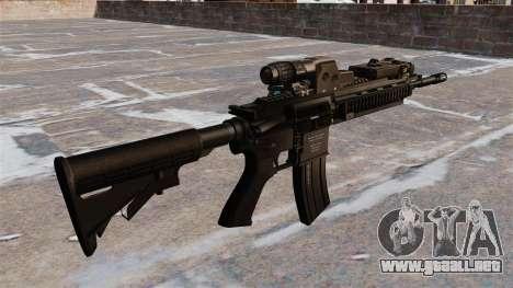 HK416 automático para GTA 4 segundos de pantalla