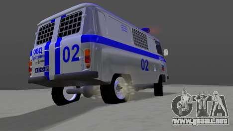 UAZ-3741 AUMONT para GTA Vice City visión correcta