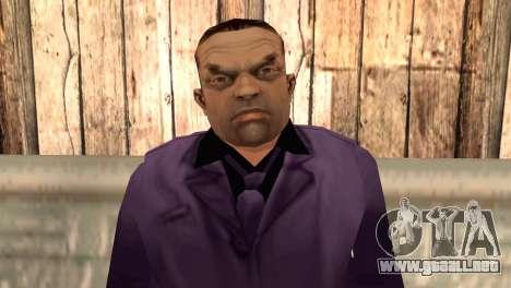 Toni Cipriani para GTA San Andreas tercera pantalla
