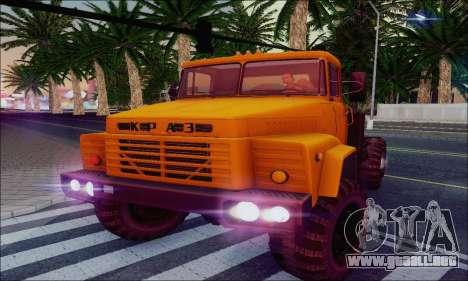 KrAZ 260v para la vista superior GTA San Andreas