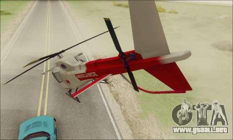 GTA V Ambulacia Maverick para la visión correcta GTA San Andreas