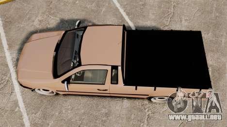 Volkswagen Saveiro G3 SuperSurf para GTA 4 visión correcta