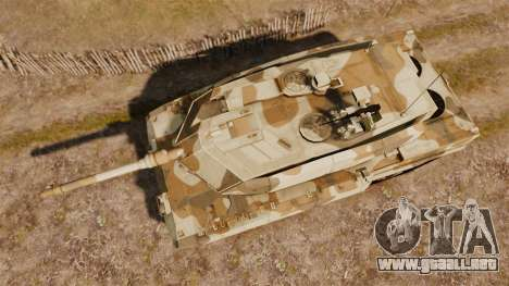 Leopard 2A7 para GTA 4 visión correcta
