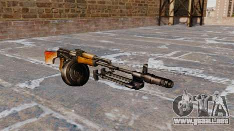 La ametralladora RPK-74 ligera para GTA 4