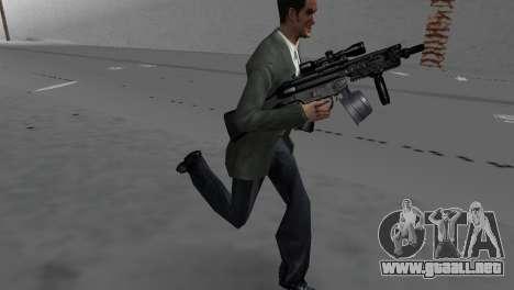 Custom MP5 para GTA Vice City tercera pantalla