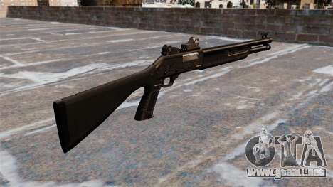 Táctica escopeta Fabarm SDASS fuerzas Pro para GTA 4 segundos de pantalla