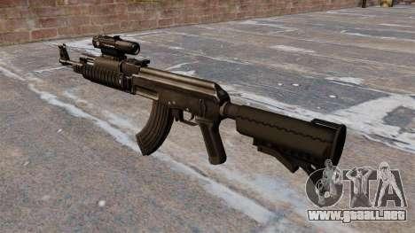 Engranaje táctico AK-47 para GTA 4 segundos de pantalla