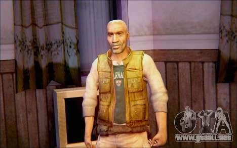 Eli de Half Life 2 para GTA San Andreas