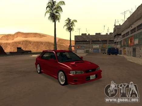 Subaru Impreza Wagon para GTA San Andreas