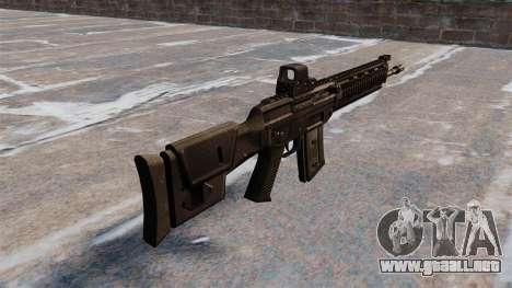 Fusil automático SIG SG 751 para GTA 4 segundos de pantalla