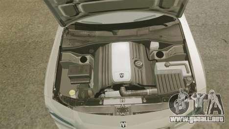 Dodge Charger SE 2006 para GTA 4 vista interior