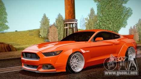 Ford Mustang Rocket Bunny 2015 para GTA San Andreas
