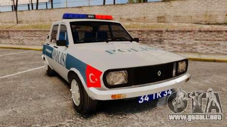 Renault 12 Turkish Police para GTA 4