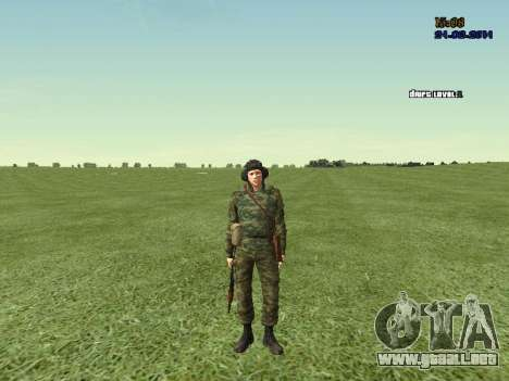 Tankman para GTA San Andreas sexta pantalla