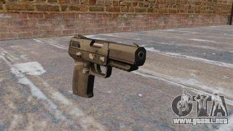 Carga automática pistola FN Five-seveN MW3 para GTA 4