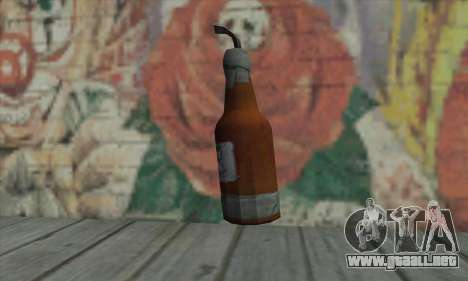 Cóctel Molotov de GTA V para GTA San Andreas segunda pantalla