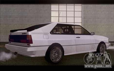 Audi S1 Quattro para GTA San Andreas left