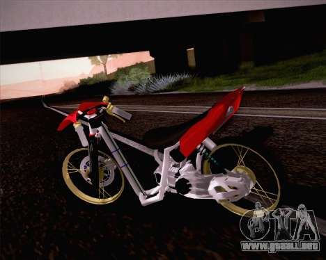 Yamaha Mio para GTA San Andreas left