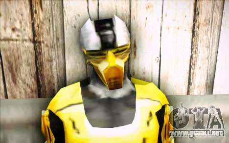Cyrax para GTA San Andreas tercera pantalla