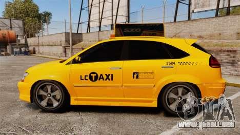 Habanero Taxi para GTA 4 left