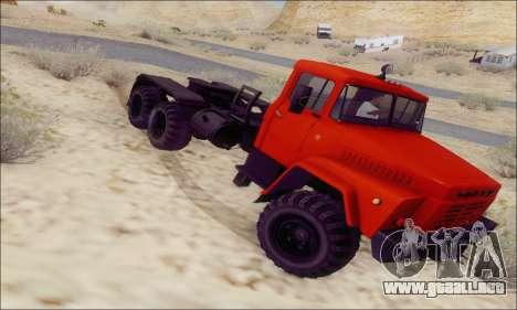 KrAZ 260v para la visión correcta GTA San Andreas