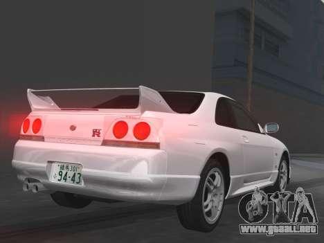 Nissan SKyline GT-R BNR33 para GTA Vice City interior