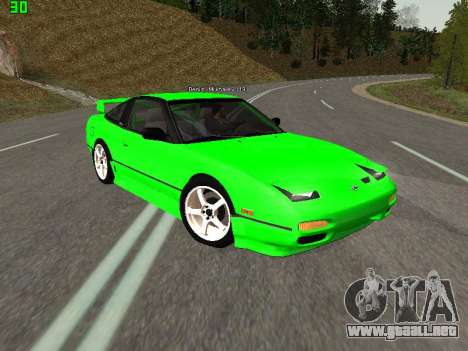 Nissan 240SX Drift Version para GTA San Andreas