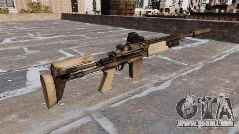 Fusil automático Mk 14 Mod 0 EBR para GTA 4 segundos de pantalla