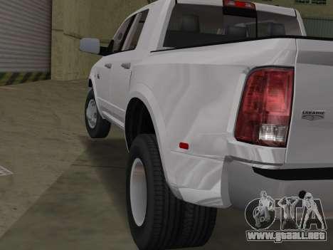 Dodge Ram 3500 Laramie 2012 para GTA Vice City visión correcta