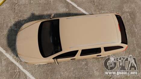 Skoda Octavia RS Stock para GTA 4 visión correcta